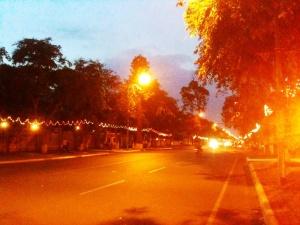 Khmer New Year - Deserted Streets